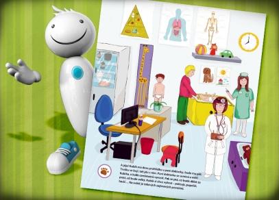 Kniha byla zpracována ve spolupráci s dětskou psycholožkou