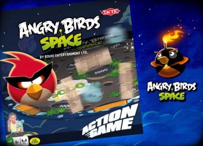 ANGRY BIRDS SPACE - stolní hra od ALBI