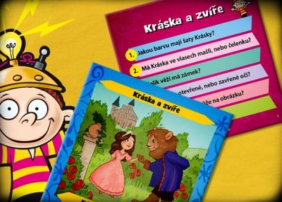 71 ilustrovaných karet z českých i světových pohádek
