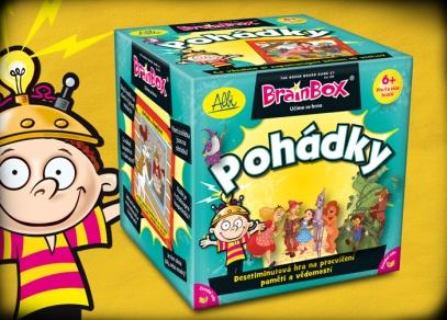 V kostce! Pohádky - hra z řady Brainbox od ALBI