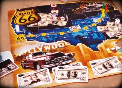 USA - kvízová hra - hra Route 66