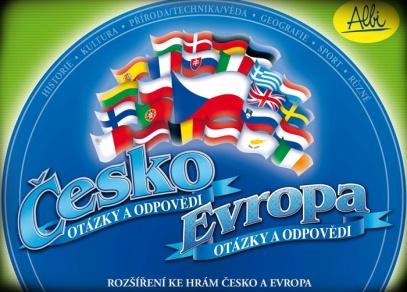 Česko / Evropa - rozšíření - titulka krabice