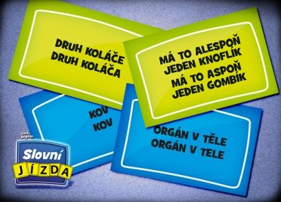 200 karet se slovními úkoly - Slovní jízda od ALBI