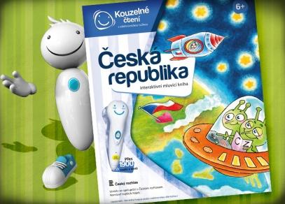 Česká republika - interaktivní kniha z edice Kouzelné čtení od ALBI