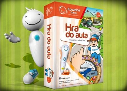 První interaktivní hra z edice Kouzelného čtení - Hra do auta