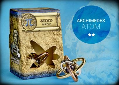 Archimedes - hlavolam Atom s obtížností 2