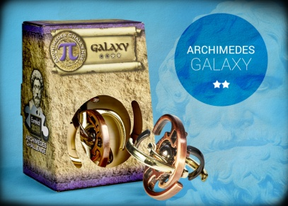 Hlavolam Archimedes Galaxy - obtížnost 2