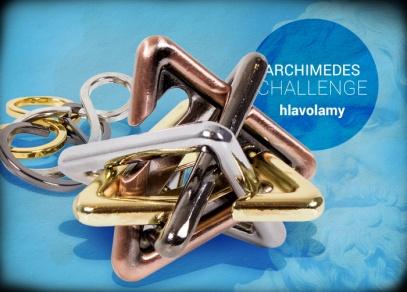 Archimedes hlavolamy - designové hlavolamy od ALBI
