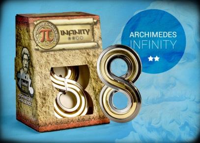 Hlavolam Archimedes Infinity - obtížnost 2