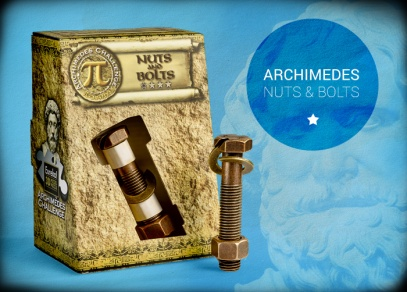 Nejjednodušší hlavolam z řady Archimedes - Nuts and Bolts
