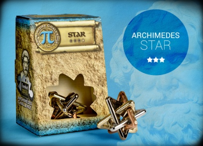 Archimedes Star - hlavolam s druhou nejvyšší obtížností