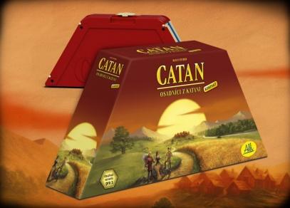 Catan - kompaktní Osadníci na cesty