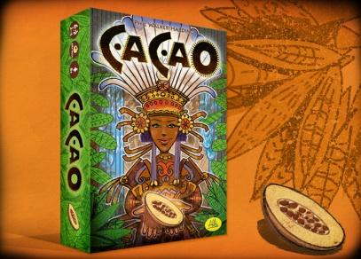 Cacao - Rodinná hra pro 2 až 4 náčelníky od osmi let