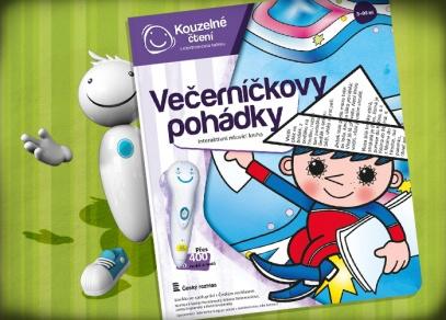 Kouzelné pohádky s Večerníčkem - interaktivní pohádky pro děti od 3 let...