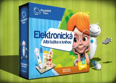 Elektronická ALBI tužka s knihou Hravé učení - výhodný set Kouzelného čtení pro děti od 3 let