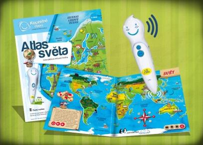 Průvodce kontinenty, oceány, desítky zajímavostí o naší planetě - Atlas světa pro děti od 6-ti let...