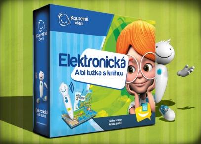 Výhodný balíček elektronické ALBI tužky a knihy Atlas světa z edice Kouzelné čtení
