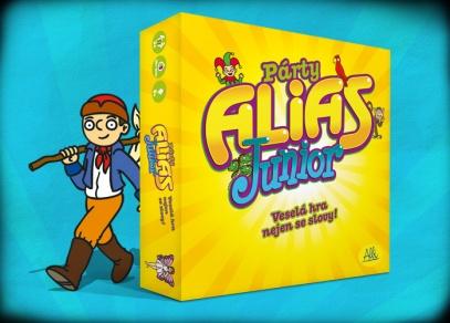 Párty Alias Junior II. vydání - týmová hra pro děti od 8 let