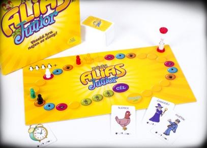 Rozehraná hra Párty Alias Junior II. vydání