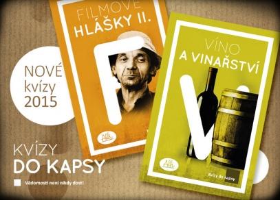 Novinky podzimu 2015 - Filmové hlášky II. a Víno a vinařství