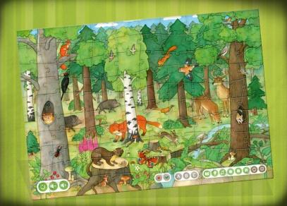 Poznejte zvířata, stromy, rostliny i houby v puzzle Náš les