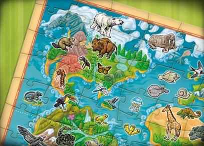 Projděte si celou planetu, zjistěte, jaké zvuky zvířata vydávají a otestujte své znalosti v kvízech