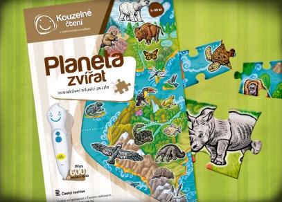 Puzzle ze 100 dílků a celou naší planetou