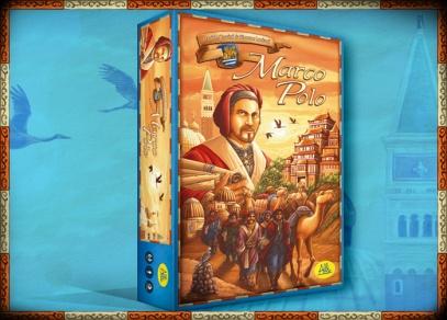 Marco Polo - Marco Polo - strategická ekonomická hra od ALBI