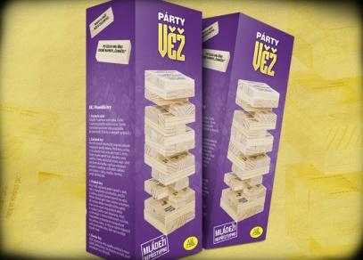 Párty věž - vtipná hra na večírek od ALBI