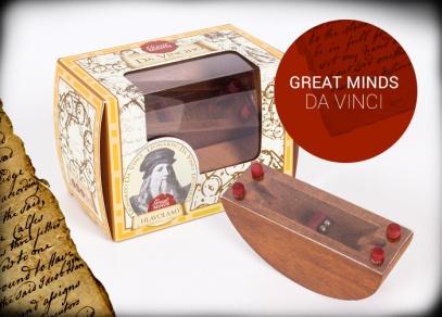 Great Minds - Da Vinciho ložisko - hlavolam od ALBI