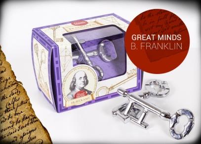 Great Minds - Franklinovy klíče - hlavolam od ALBI
