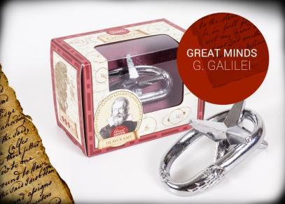 Great Minds - Galileova hvězda - hlavolam od ALBI
