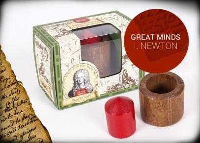 Great Minds - Newtonova zemská přitažlivost - hlavolam od ALBI