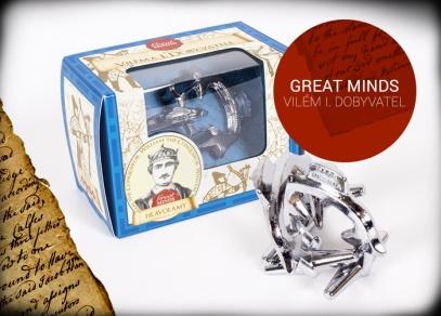 Great Minds - Paroží Viléma I. Dobyvatele - hlavolam od ALBI
