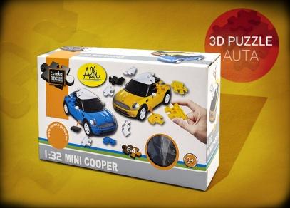 3D puzzle Mini Cooper - balení