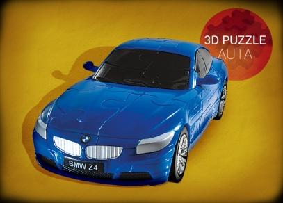 3D puzzle auta od ALBI - BMW