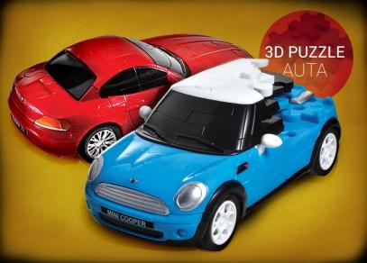 3D puzzle auta od ALBI - Mini Cooper