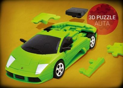 3D puzzle auta od ALBI - Lamborghini