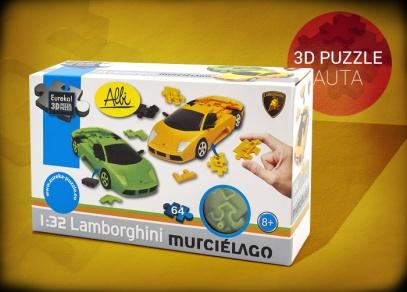 3D puzzle Lamborghini - balení