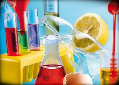 Detail vybavení experimentální sady Chemická laboratoř
