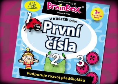 První čísla - hra pro předškoláky z edice Brainbox