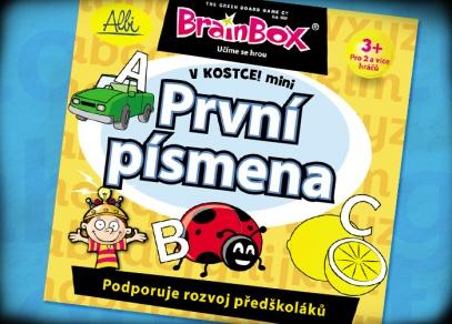 První písmena - skvělá hra z řady Brainbox od ALBI