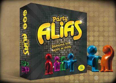 Párty Alias - krabice párty hry