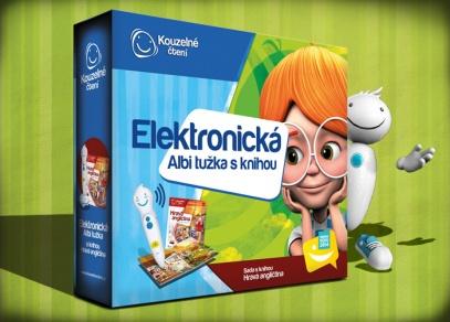 Výhodné balení elektronické ALBI tužky a interaktivní mluvící knihy Hravá angličtina