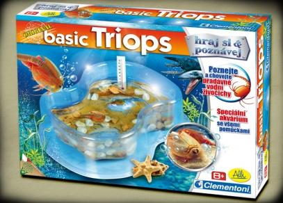 Krabice experimentální hry Pravěké akvárium
