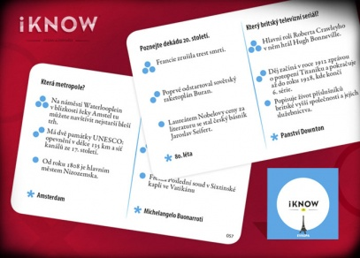 400 otázek z evropského kontinentu na 100 kartách - Mini iKnow Evropa