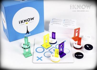 Lze hrát samostatně nebo jako rozšíření velké hry iKNOW