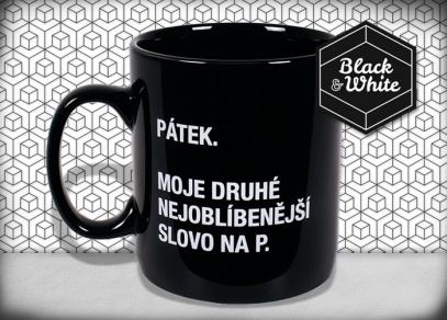 Díky obří velikosti Megahrnků Black & White uhasíte i velkou žízeň