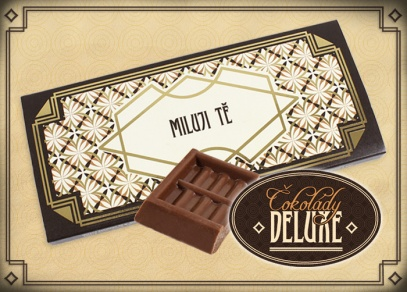 Vkusným designem čokolád DELUXE od Albi nikoho neurazíte