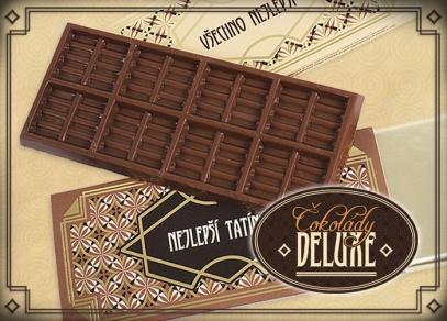 Vůni a chuti belgické čokolády DELUXE nikdo neodolá